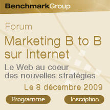 Benchmark Group : Marketing B to B sur Internet