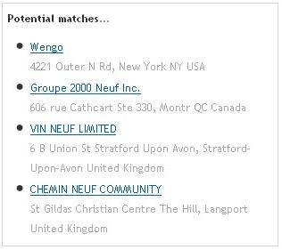 Webleads et Jigsaw : Annuaire des sociétés provenant des Etats-Unis, du Canada et du Royaume-Uni