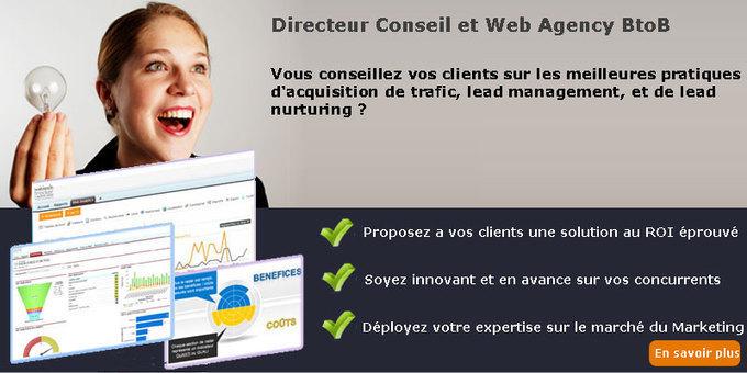 Vous êtes Directeur Conseil et Web Agency b2b