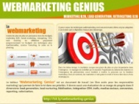Le blog B2B parle de Webmarketing Genius