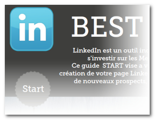 Best Practice LinkedIn (START) Infographic