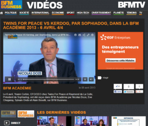 Get+  sur BFM Business