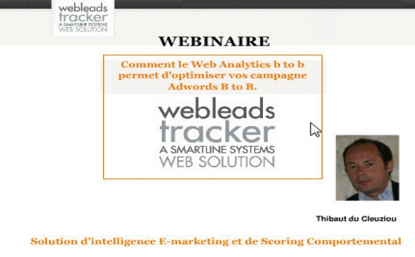 Webinaire Webleads Tracker: les Slides