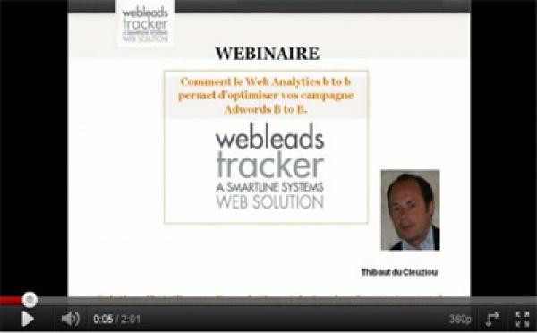 Webinaire Webleads Tracker : les Vidéos