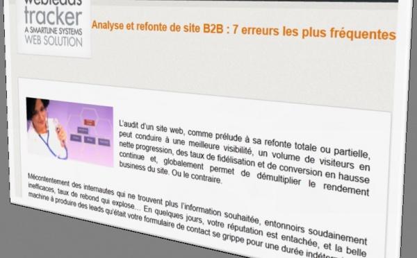Analyse et refonte de site B2B : 7 erreurs les plus fréquentes
