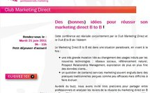 12 repères pour le marketing B to B : se constituer une base de prospection efficace