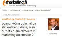Le marketing automation alimente vos leads, mais qu'est-ce qui alimente le marketing automation?